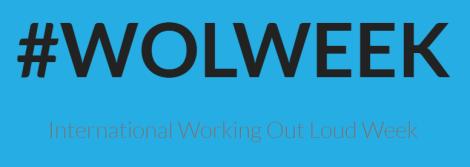 WOLWEEK - International Working Out Loud Week