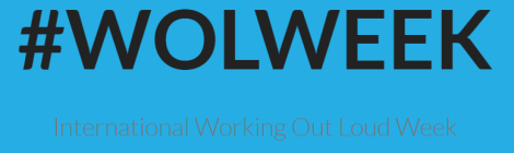 WOLWEEK - International Working Out Loud Week