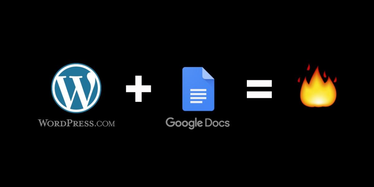 WordPress.com for GoogleDocs
