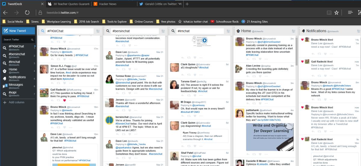 Tweet Chats – My Favorite New Informal LearningTechnology