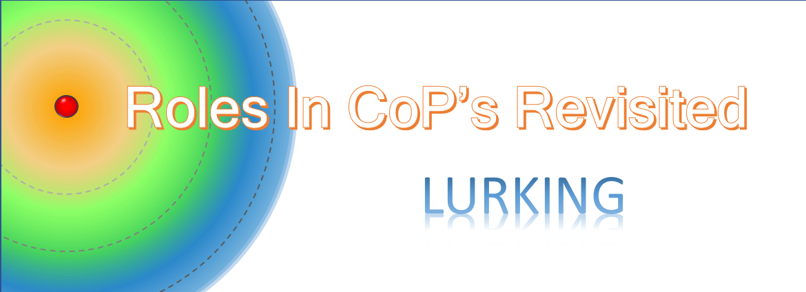 Roles in CoPs Revisited:Lurking